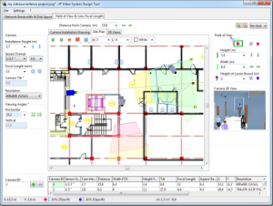 Professional security camera system design northeast for Cctv layout software